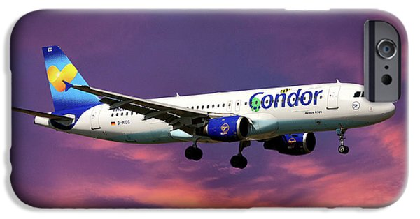 Berlin iPhone 6s Case - Condor Airbus A320-212 by Smart Aviation