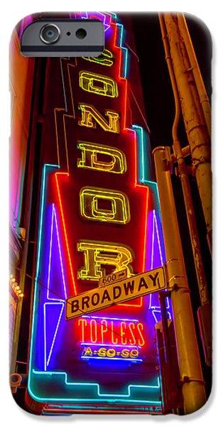 Condor Neon On Broadway IPhone 6s Case