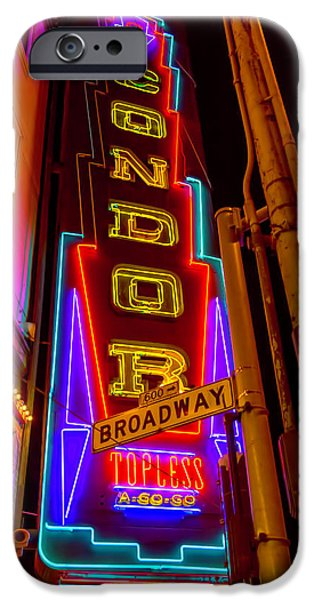 Condor Neon On Broadway IPhone 6s Case by Garry Gay