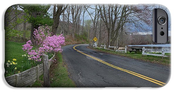 IPhone 6s Case featuring the photograph Connecticut Country Road by Bill Wakeley