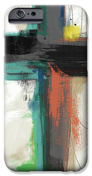 Contemporary iPhone 6s Case - Contemporary Cross 2- Art By Linda Woods by Linda Woods