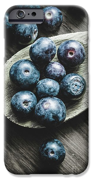 Blue Berry iPhone 6s Case - Cooking With Blueberries by Jorgo Photography - Wall Art Gallery