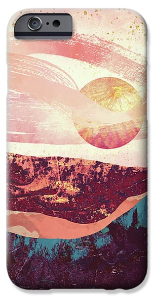Landscapes iPhone 6s Case - Coral Sky by Katherine Smit