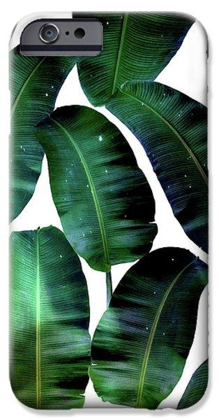 Cosmic Banana Leaves IPhone 6s Case by Uma Gokhale
