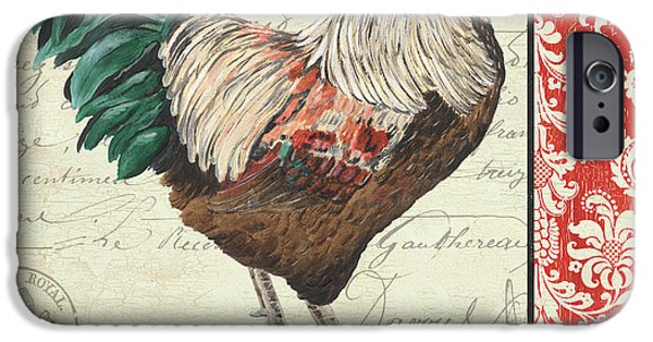Chicken iPhone 6s Case - Country Rooster 1 by Debbie DeWitt