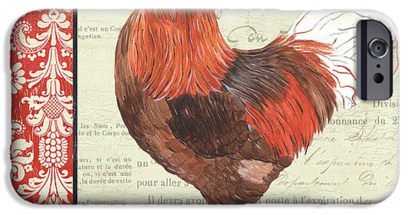 Chicken iPhone 6s Case - Country Rooster 2 by Debbie DeWitt