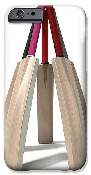 Cricket Bat Circle IPhone 6s Case