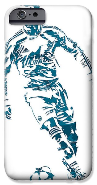 Cristiano Ronaldo Real Madrid Pixel Art 1 IPhone 6s Case
