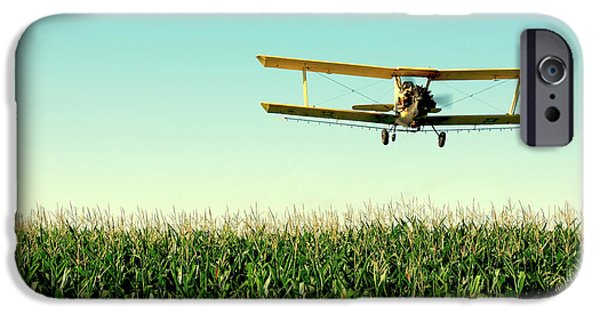 Airplane iPhone 6s Case - Crops Dusted by Todd Klassy