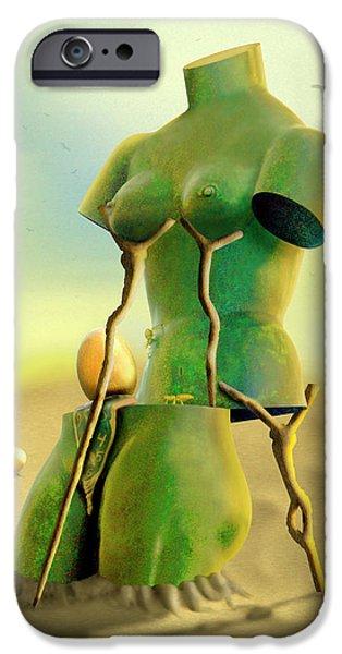 Buzzard iPhone 6s Case - Crutches 2 by Mike McGlothlen