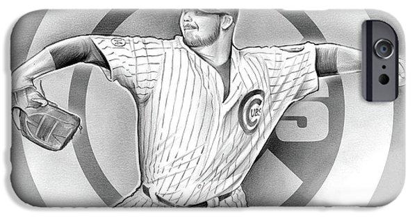 Cubs 2016 IPhone 6s Case by Greg Joens