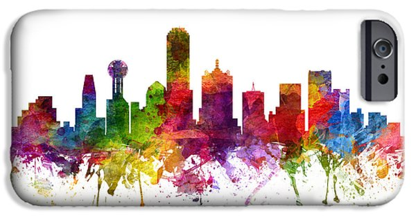 Dallas Cityscape 06 IPhone 6s Case by Aged Pixel