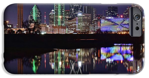 Dallas Reflecting At Night IPhone 6s Case