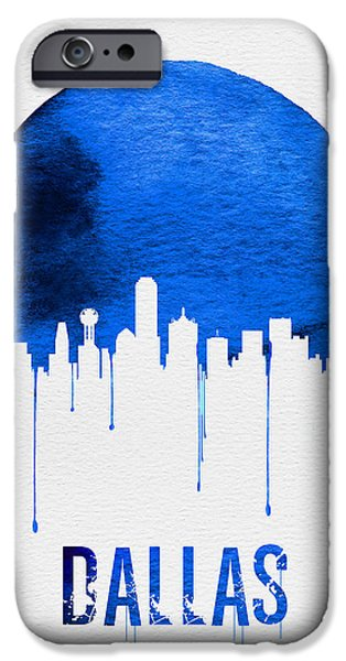 Dallas Skyline Blue IPhone 6s Case