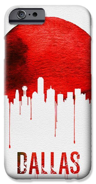 Dallas Skyline Red IPhone 6s Case
