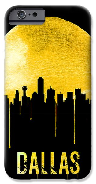 Dallas Skyline Yellow IPhone 6s Case