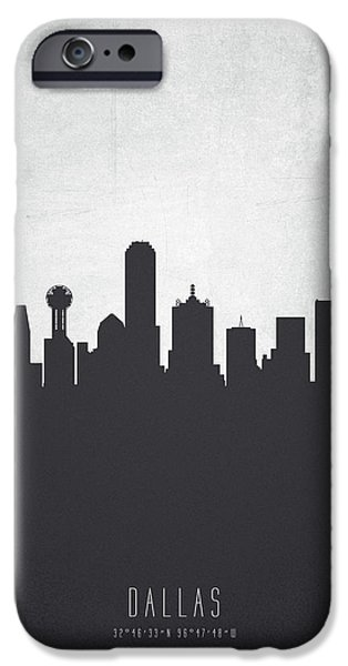 Dallas Texas Cityscape 19 IPhone 6s Case by Aged Pixel