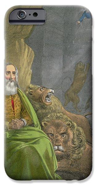 Dungeon iPhone 6s Case - Daniel In The Lions' Den by Siegfried Detler Bendixen