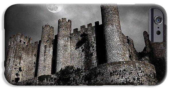 Dark Castle IPhone Case by Carlos Caetano