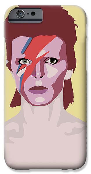 David Bowie IPhone 6s Case by Nicole Wilson