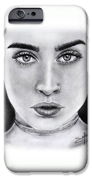 Lauren Jauregui Drawing By Sofia Furniel  IPhone 6s Case