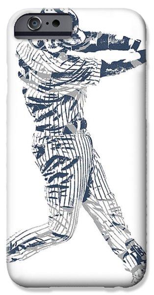 Derek Jeter New York Yankees Pixel Art 10 IPhone 6s Case