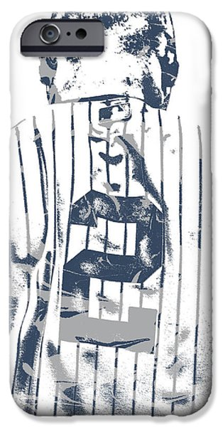 Derek Jeter New York Yankees Pixel Art 11 IPhone 6s Case