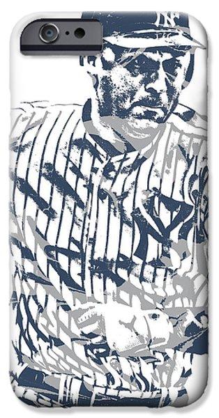 Derek Jeter New York Yankees Pixel Art 12 IPhone 6s Case