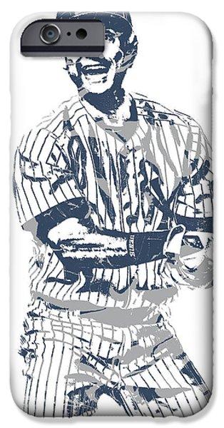 Derek Jeter New York Yankees Pixel Art 13 IPhone 6s Case