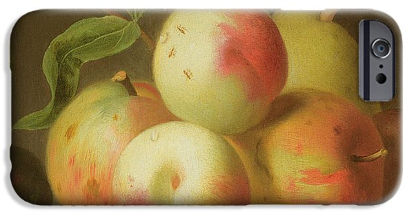 Detail Of Apples On A Shelf IPhone 6s Case by Jakob Bogdany