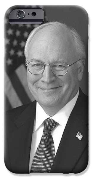 Dick Cheney iPhone 6s Case - Dick Cheney by War Is Hell Store