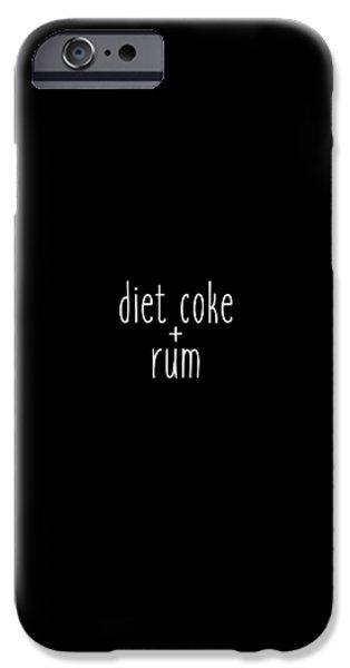 Diet Coke And Rum IPhone 6s Case by Cortney Herron
