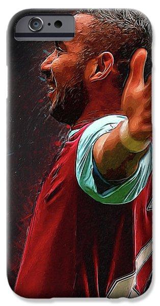 Dimitri Payet IPhone 6s Case by Semih Yurdabak