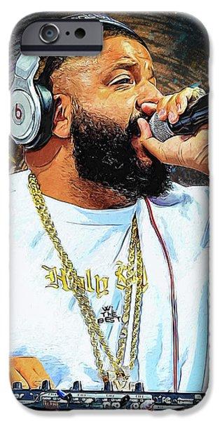 Rihanna iPhone 6s Case - Dj Khaled by Semih Yurdabak
