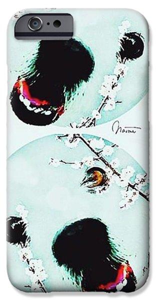 iPhone 6s Case - Dog Blossoms  by Naomi Ibuki