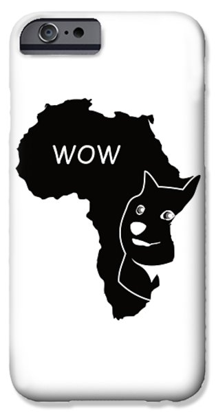 Dogecoin In Africa IPhone 6s Case by Michael Jordan
