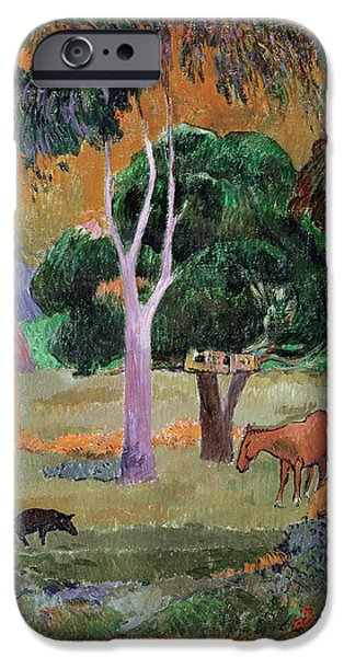 Dominican Landscape IPhone 6s Case by Paul Gauguin