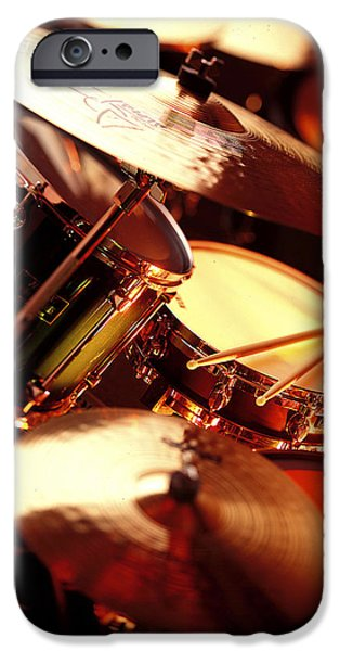 Drum iPhone 6s Case - Drums by Robert Ponzoni