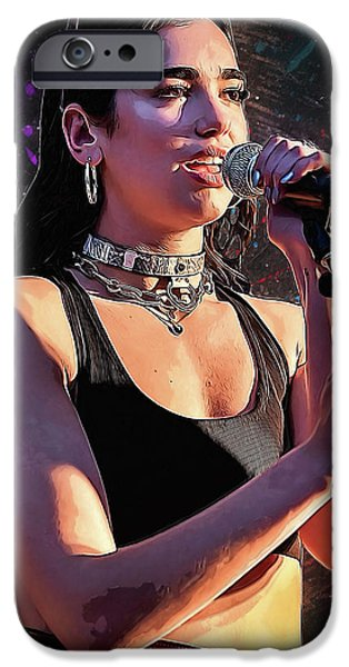 Rihanna iPhone 6s Case - Dua Lipa by Semih Yurdabak