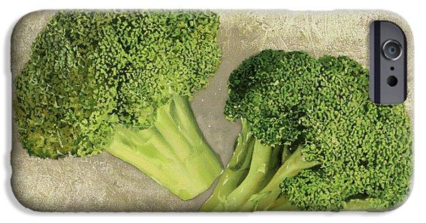 Due Broccoletti IPhone 6s Case by Guido Borelli