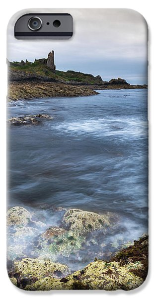Castle iPhone 6s Case - Dunure Castle Scotland  by Mark Mc neill