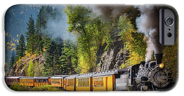 Train iPhone 6s Case - Durango-silverton Narrow Gauge Railroad by Inge Johnsson