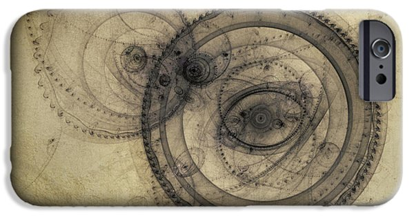 Fractal iPhone 6s Case - Dust Off The Clock by Scott Norris