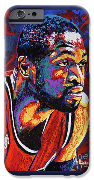 Dwyane Wade 3 IPhone 6s Case by Maria Arango