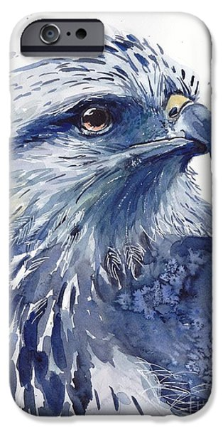 Pigeon iPhone 6s Case - Eagle Watercolor by Suzann's Art