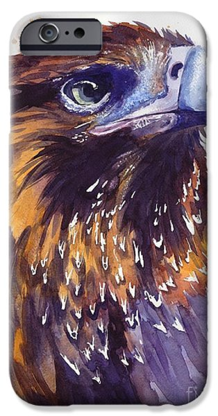 Pigeon iPhone 6s Case - Eagle's Head by Suzann's Art