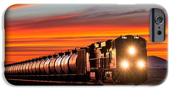 Train iPhone 6s Case - Early Morning Haul by Todd Klassy