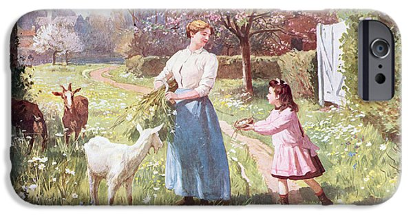 Easter Eggs In The Country IPhone 6s Case by Victor Gabriel Gilbert