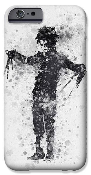 Edward Scissorhands 01 IPhone 6s Case by Aged Pixel