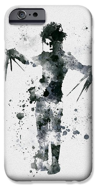 Edward Scissorhands IPhone 6s Case by Rebecca Jenkins